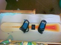 Prodám snowboard nitro 155 a téměř nové vázání K2 bliss,boty