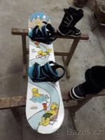 Snowboard GRAVITY + boty