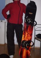 Snowboardovy komplet vc.obleceni?