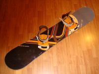Snowboard komplet LIMITED4YOU 145cm bazar ZÁRUKA