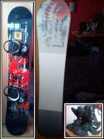 Prodam snowboard komplet